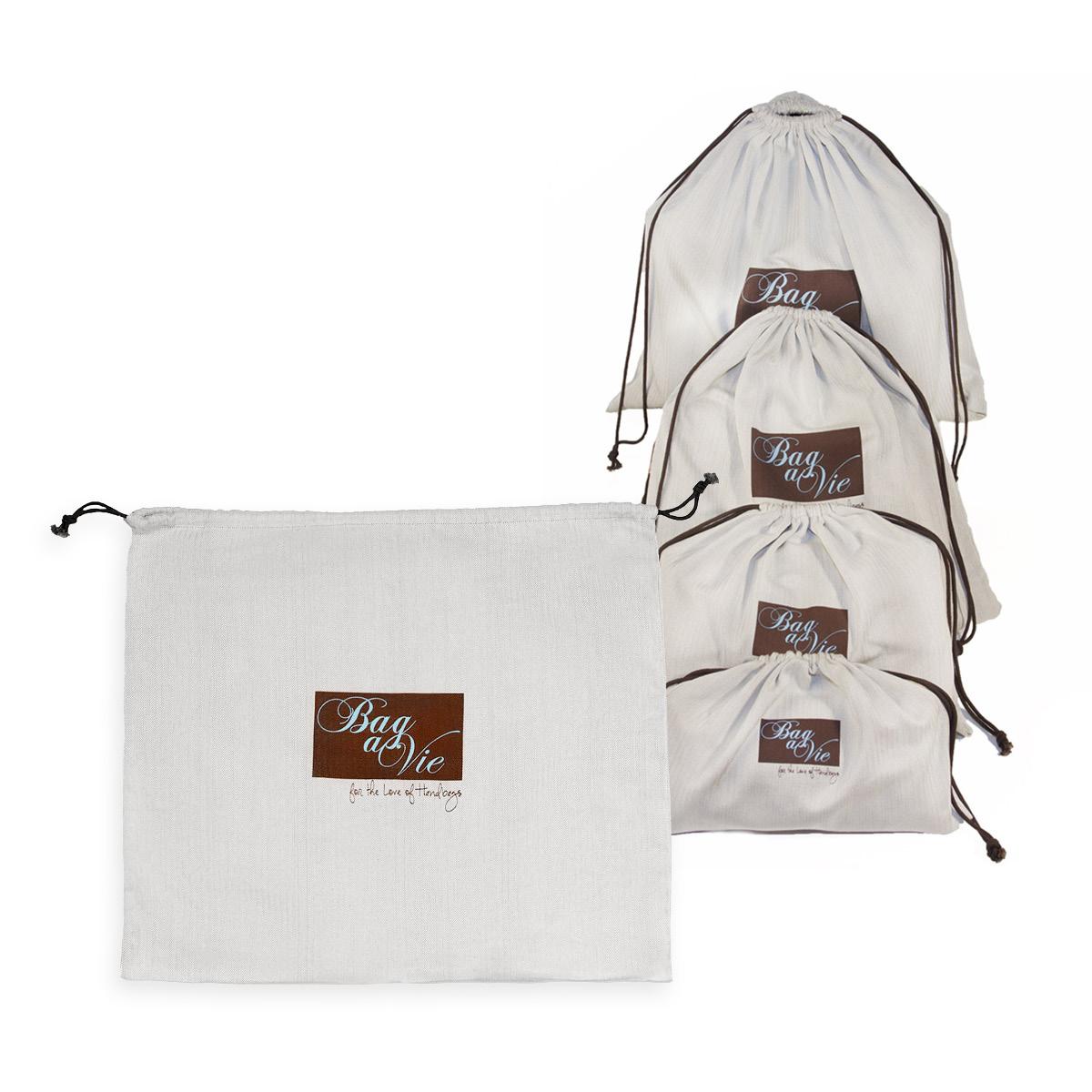 Herringbone Canvas Dust Bags