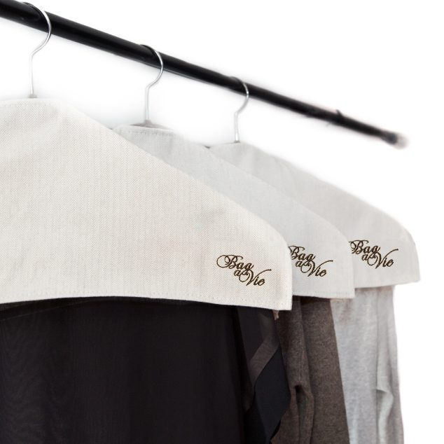 Natural Hanger Covers 3 Pack
